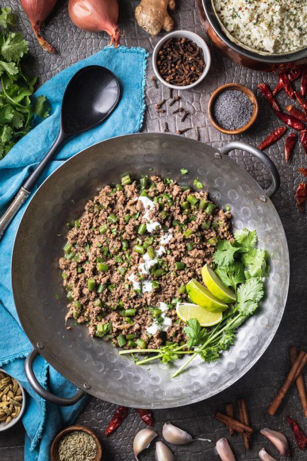 Keto Beef Keema Recipe (Kheema)