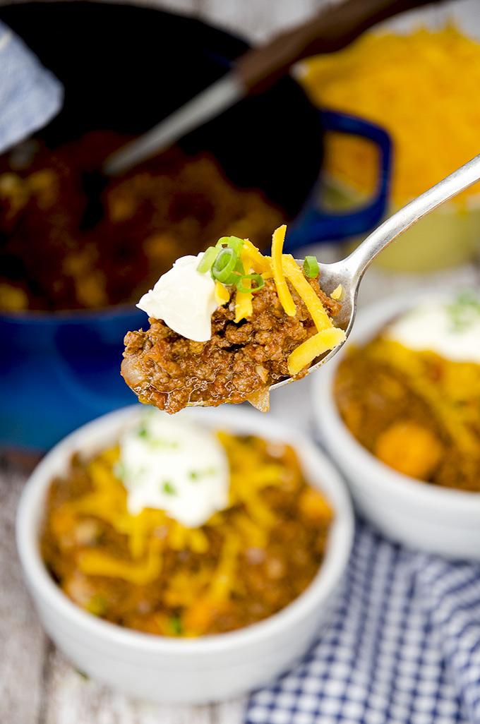 easy keto chili recipe