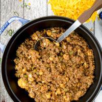 low carb keto chili