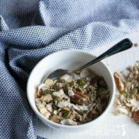 Muesli Cereal for a Keto Paleo Breakfast