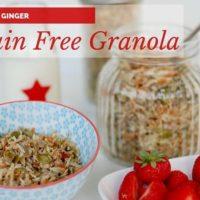 Fennel & Ginger Grain Free Granola