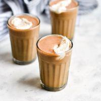 Keto Pumpkin Spice Latte Milkshakes