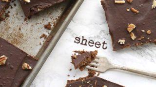 Texas Sheet Cake - Keto Recipe