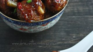 General Tso's Meatballs (Low Carb & Gluten Free)