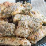 Oven Fried Salt and Vinegar Chicken Wings