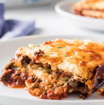 Vegetarian Keto Lasagna with Mushroom Ragu